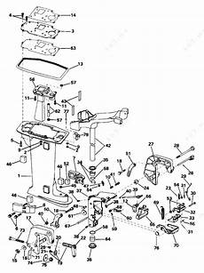Johnson 1996 6 J6rleds Midsection Parts Catalog