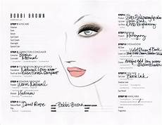Face Chart Brown Holmes Brown Face Char Brown Makeup