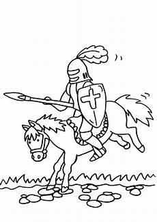 Ausmalbilder Zum Ausdrucken Ritter Ausmalbild Ritter Kostenlose Malvorlage Ritterturnier