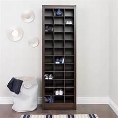 prepac espresso space saving shoe storage cabinet eusr