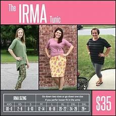 Sizing Chart For Lularoe Irma Pin By Domme 169 On Plunder Biz Ideas Lularoe Sizing