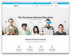 Online Education Templates Free Download 33 Best Free Amp Premium Education Website Templates 2020