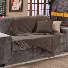 manta para sof 225 sevilha chenille 120x180cm marrom bord r