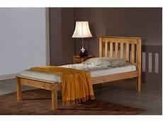 birlea denver 3ft single pine wooden bed frame by birlea