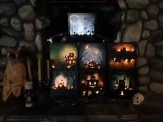 Light Up Halloween Accessories Halloween Light Up Canvas Pictures Youtube