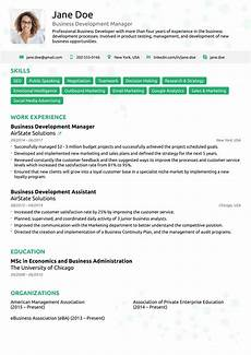 How To Update Your Resume Free One Page Resume Templates Free Download