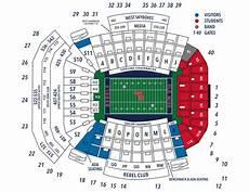 Tamu Football Seating Chart Seating Chart Ole Miss Gamedays