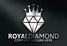 Diamond Logo Design Royal Diamond Logo Logo Templates On Creative Market