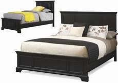 black classic bed bedroom furniture frame footboard