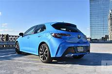 2019 toyota corolla hatchback 2019 toyota corolla hatchback review digital trends
