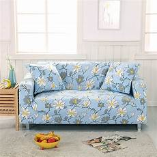 blue flowers sofa covers for living room 100