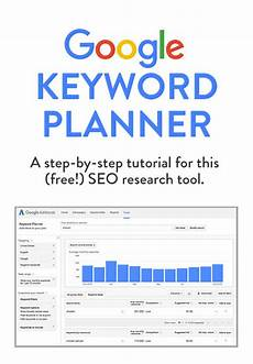 How To Use Keywords How To Use Google Keyword Planner