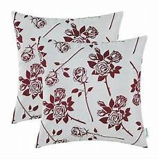pack of 2 calitime cushion covers throw pillow cases 18 x