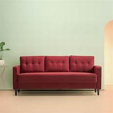 zinus mid century sofa in ruby mid century sofa