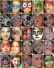 Face Painting Chart Full Face Paint Board Face Painting Face