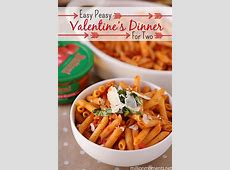 Easy Valentine's Day romantic dinner ideas #Valentines4All