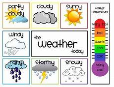 Weather Chart For Preschool Classroom Printable Daily Weather Chart Preschool Weather Preschool Weather