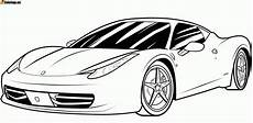 Malvorlage Rennauto Kostenlos Car Coloring Pages Car Coloring Pages In The