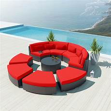 Circular Patio Sofa 3d Image by 9 Outdoor Sectional Sofa Set Modavi By Uduka