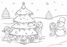 f 252 r kinder die sch 246 nsten ausmalbilder zu weihnachten