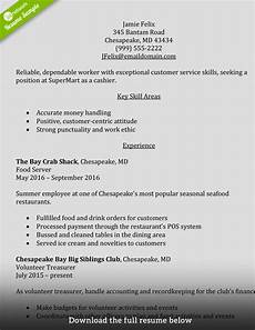 Cashier Resume Sample How To Write A Perfect Cashier Resume Examples Included