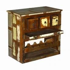 rustic reclaimed wood wine rack liquor storage cabinet