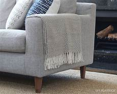 Gray Throws And Blankets For Sofa 3d Image by The Right Way To Display Throw Blankets On Your