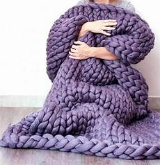 official chunky knitted blanket in 2020 knitted throws