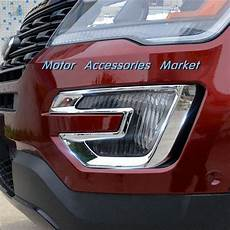 2016 Explorer Fog Lights New Chrome Front Fog Light Cover Trim For Ford Explorer