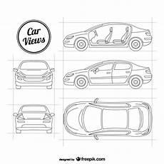 sketchy car vectors vector free