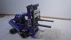 Design Technic Forklift Lego Technic 42042 Alternative Model My