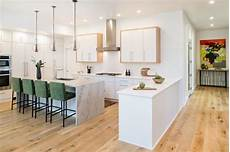 Kitchen Cabinet Definition Peninsula Adds Definition To Kitchen And Hallway Spaces Hgtv