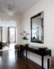 foyer mirrors lucite console table contemporary entrance foyer