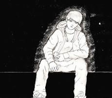 garoto triste desenho desenho dg