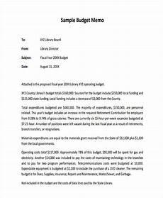 Business Proposal Memo Sample Budget Proposal Memo
