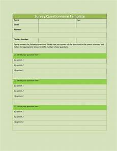 Question And Answer Sheet Template 30 Questionnaire Templates Word Template Lab