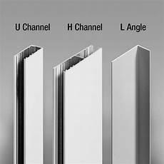 Blinds Light Gap Blocker Side Quot U Quot Channel Quot H Quot Channel Or Quot L Quot Angle Draper Inc