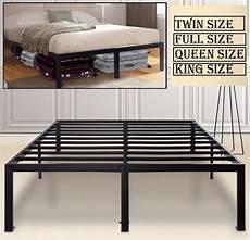 18 quot metal platform foundation bed frame steel