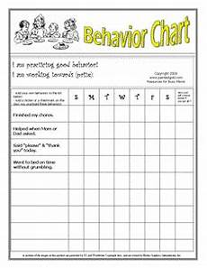 Behavior Chart For Adults Chore Chart Helps Free Behavior Charts What S The Point