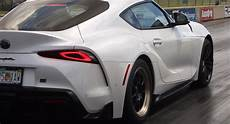 2020 Toyota Supra Quarter Mile by Slightly Moded 2020 Toyota Supra Has Just Done A 10 Second