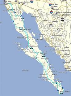 Baja Charts Baja Mexico Adventure Motorcycle Ride Stephen Fischer