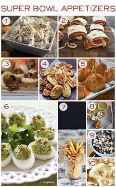 10 bowl appetizers