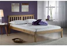 birlea furniture 135cm salvador bed waxed pine beds from