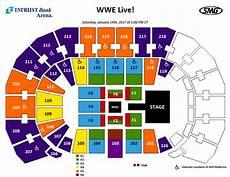 Wwe Live Intrust Bank Arena