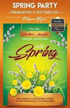Spring Event Flyer Template Are You Ready For Spring 20 Awesome Psd Flyer Templates
