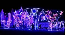 Houston Lights Festival 2018 Magical Winter Lights Brings World To Evening Festival