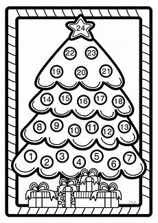 Malvorlagen Advent Calendar Advent Calendar Coloring Page Advent Calendars For