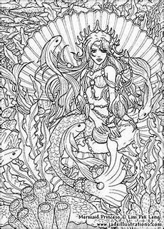 Ausmalbilder Erwachsene Meerjungfrau Ausmalbilder Fur Erwachsene Meerjungfrau