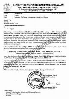 contoh surat undangan workshop secara resmi surat undangan