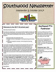 Newsletter Examples For Schools 11 Kindergarten Newsletter Templates Free Samples